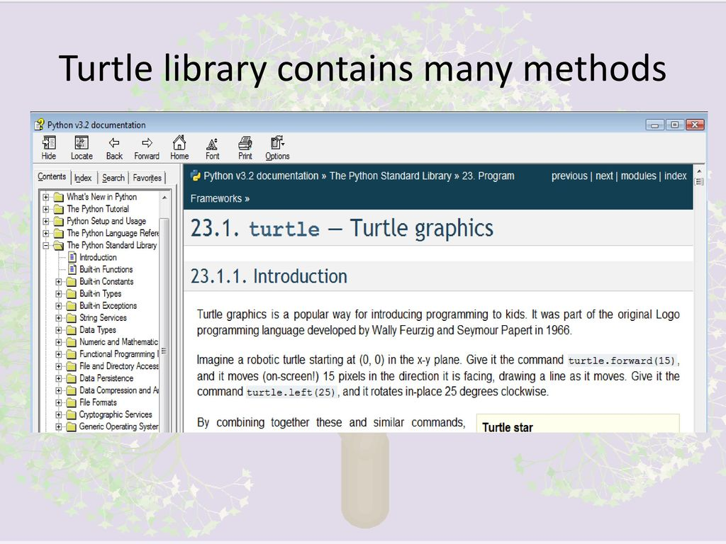 Python Turtle Graphics - ppt download