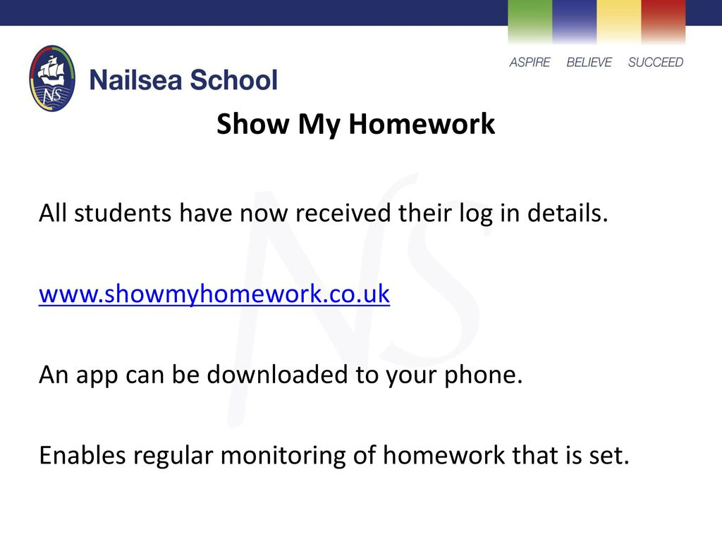 show my homework nailsea school