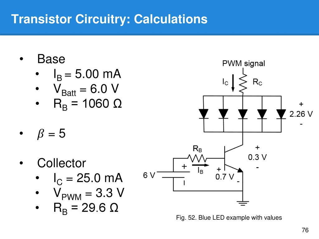 Project Progress Andrew Hamblin Evan Leong And Theo Wiersema Ppt Circuit Calculator Led Resistor Calculation Equalizer Blue Example With Values Transistor Circuitry Calculations