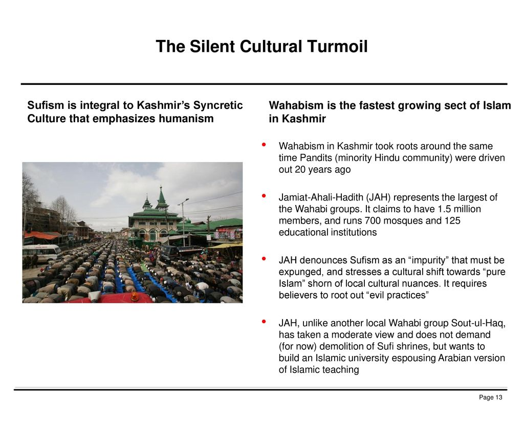 The Silent Cultural Turmoil