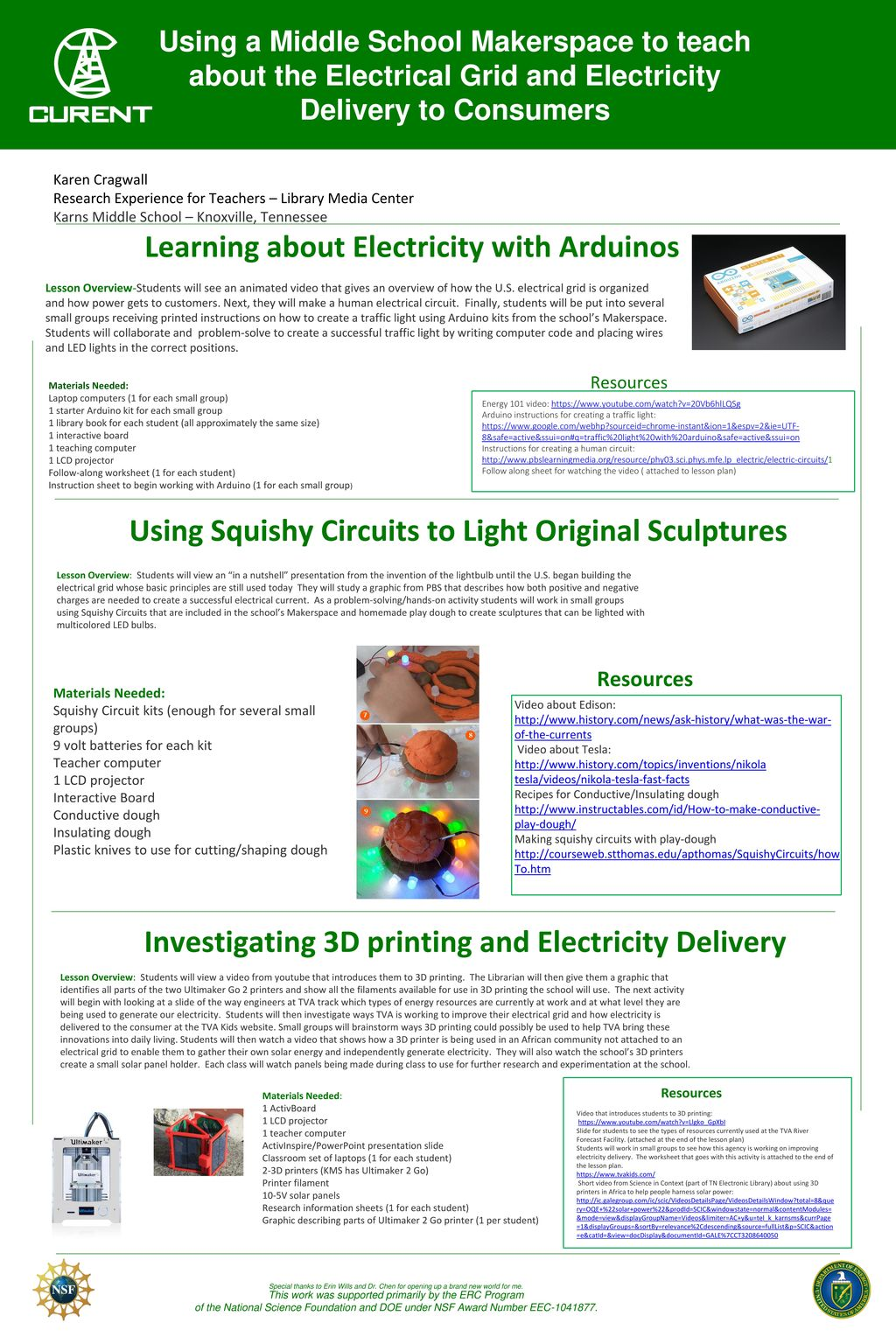 This Work Was Supported Primarily By The Erc Program Ppt Download How To Make Squishy Circuits And Batteries Dough