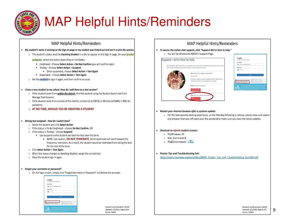Measures of Academic Progress (MAP) – Test Administration - ppt download