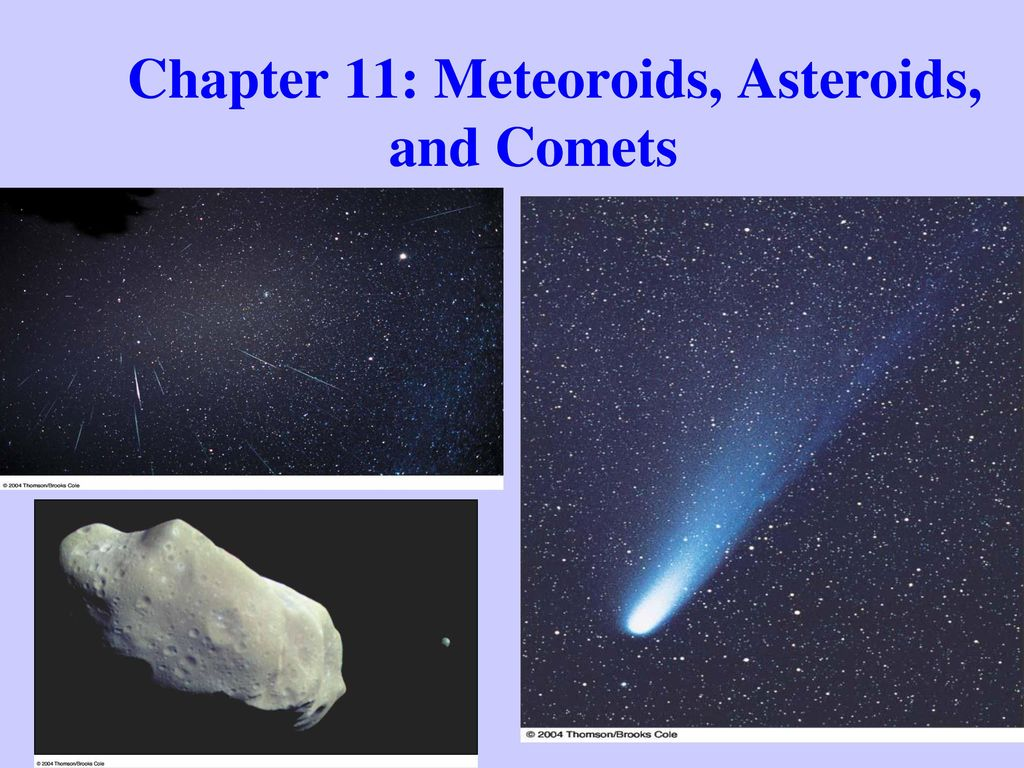 compare and contrast asteroids and comets - HD1024×768