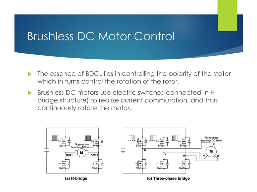 Multiphase Brushless Dc Motor Ppt Download 3 Phase Controller Diagram Wiring Control
