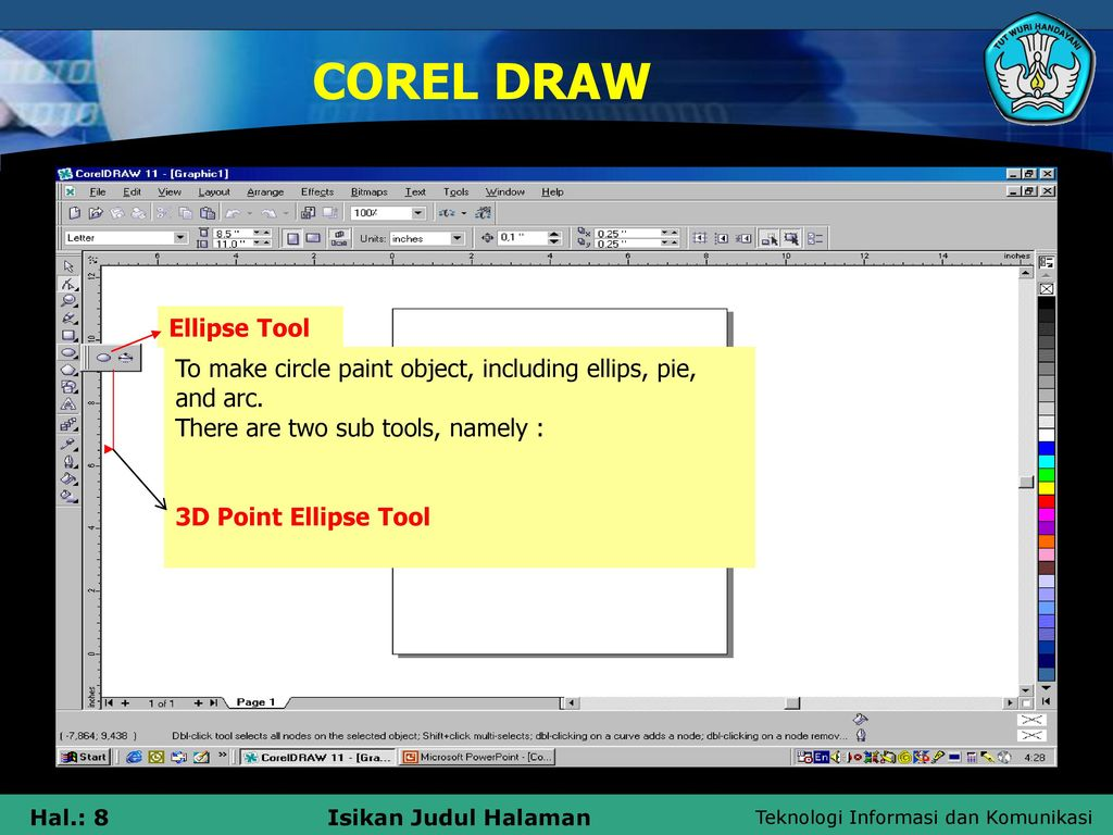DESIGNING ARTSISTIC WITH COREL DRAW - ppt download