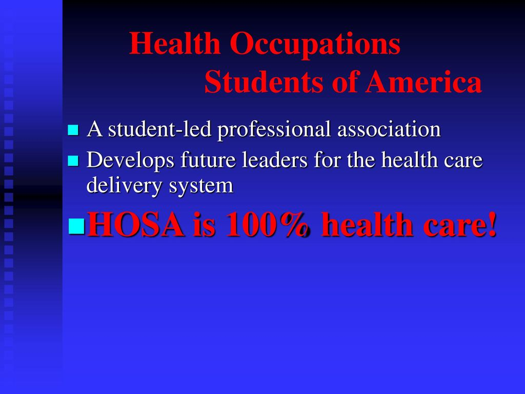 2 Health Occupations ...