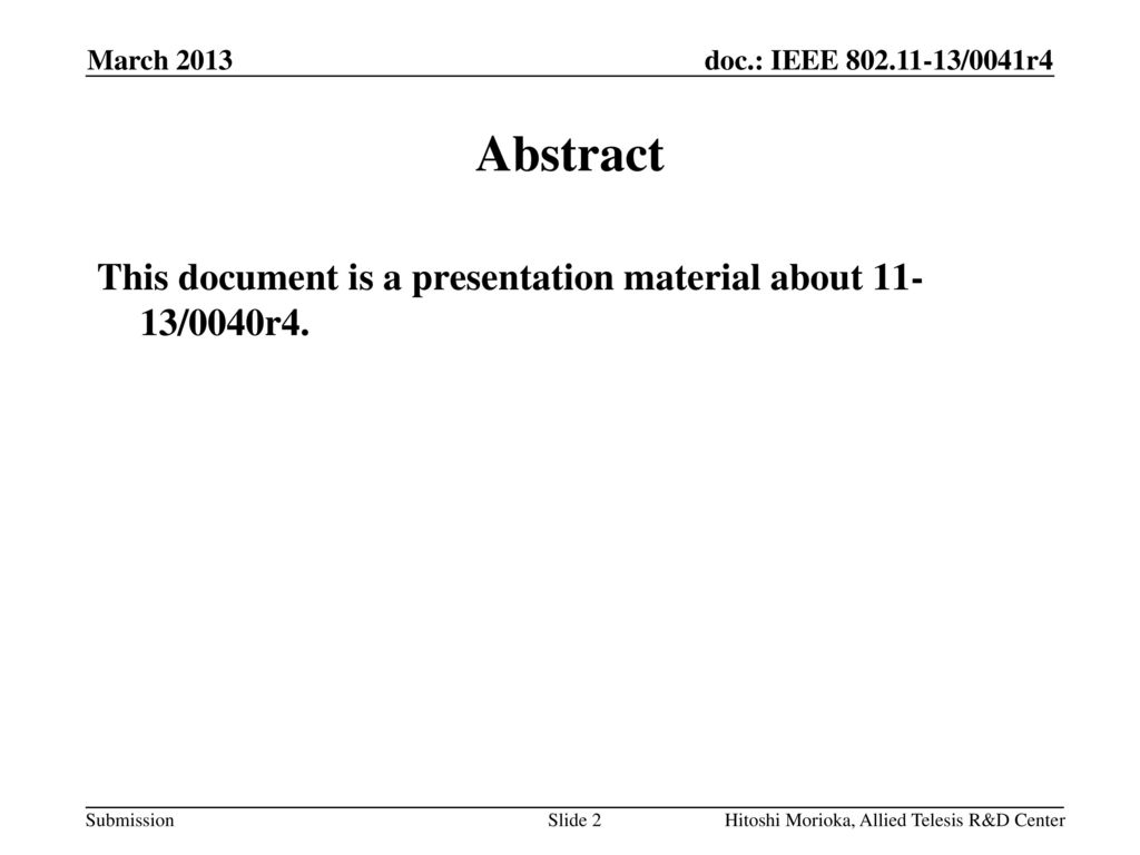 higher layer packet container proposal presentation ppt download