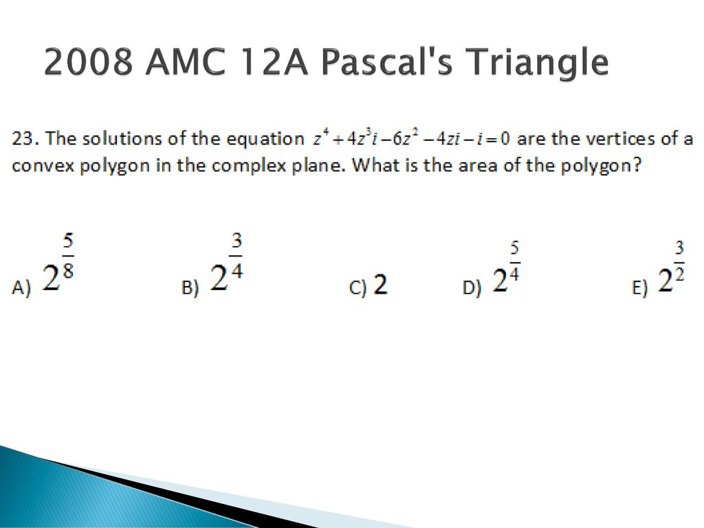 History of Math in Competitive Math Problems - ppt download