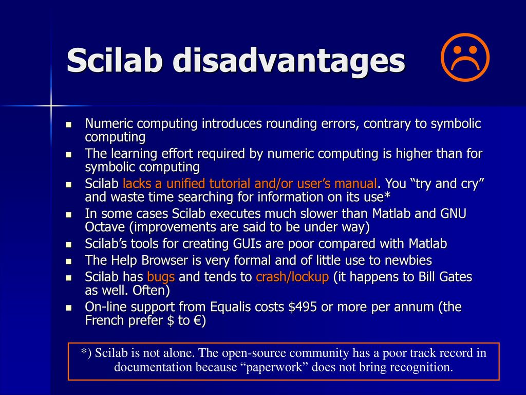 v1 0 / Scilab (5 3 3) Johnny Heikell - ppt download