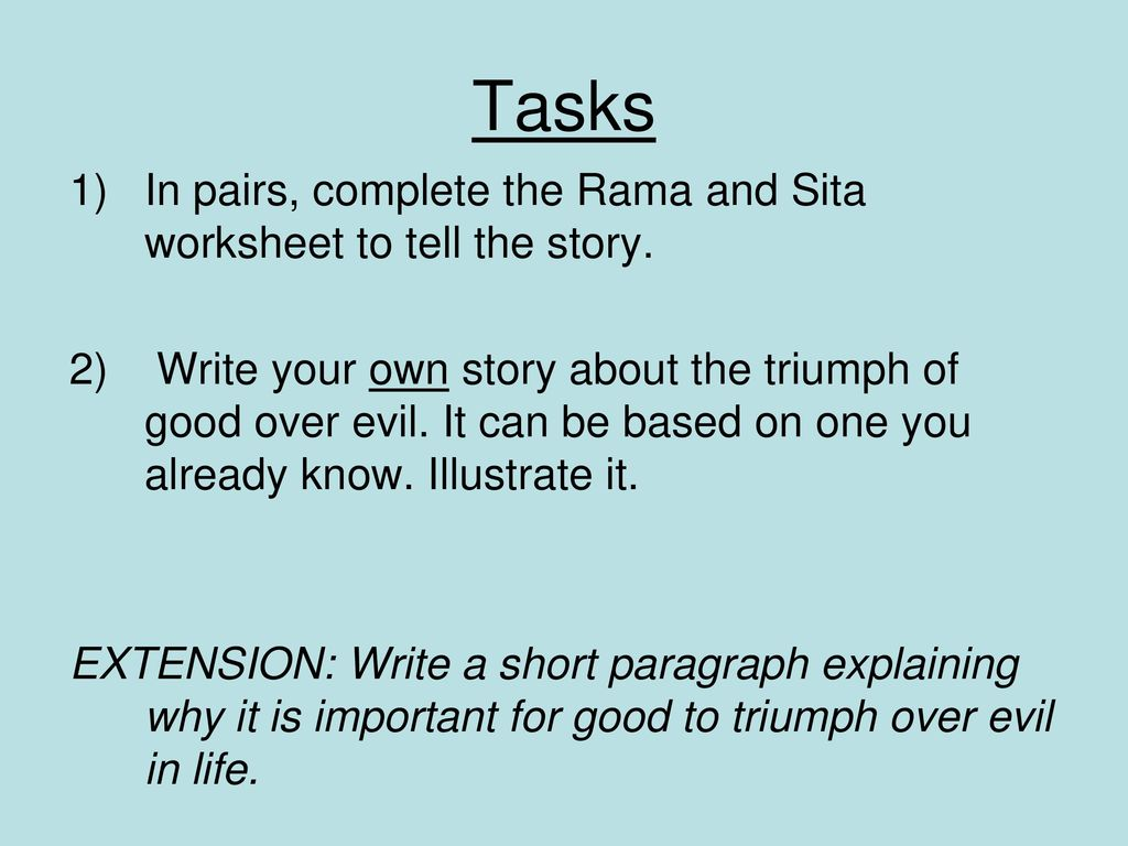 Rama and Sita Learning Objective: - ppt download