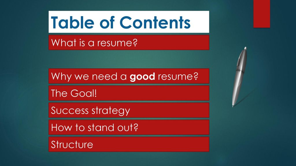 resume writing by syed owais mukhtar ppt download