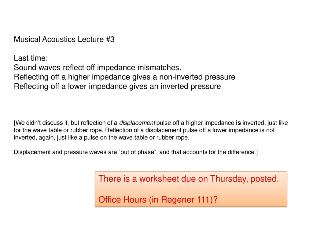 There is a worksheet due on Thursday, posted  - ppt download