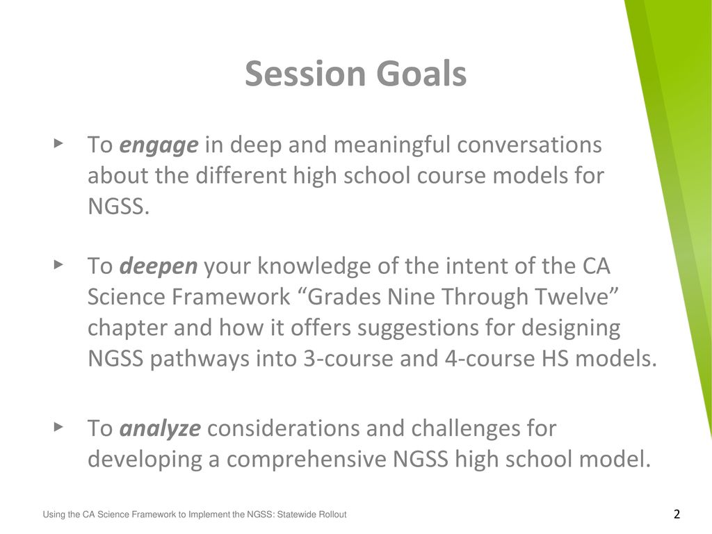 CANGSSRollout #CANGSS #NGSS Writing team acknowledgments: - ppt download