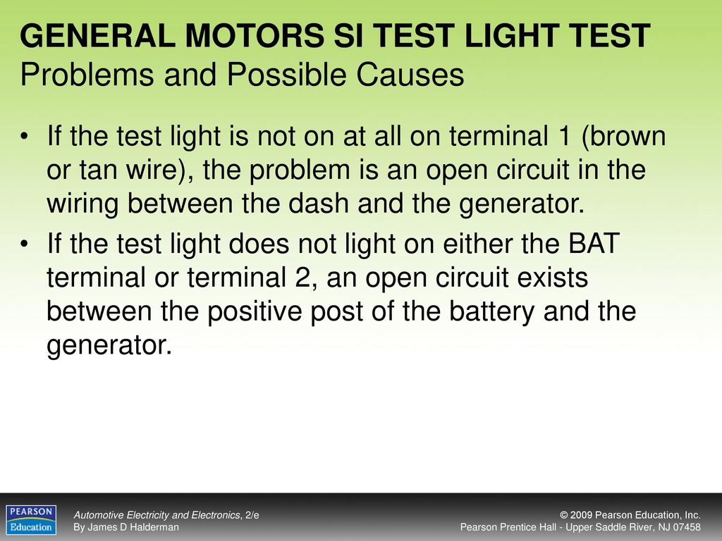 Objectives After Studying Chapter 21 The Reader Should Be Able To Wiring Open Circuit 28 General