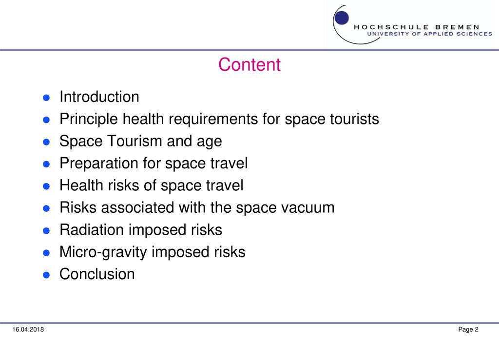 Space Weather Issues in Space Tourism - ppt download