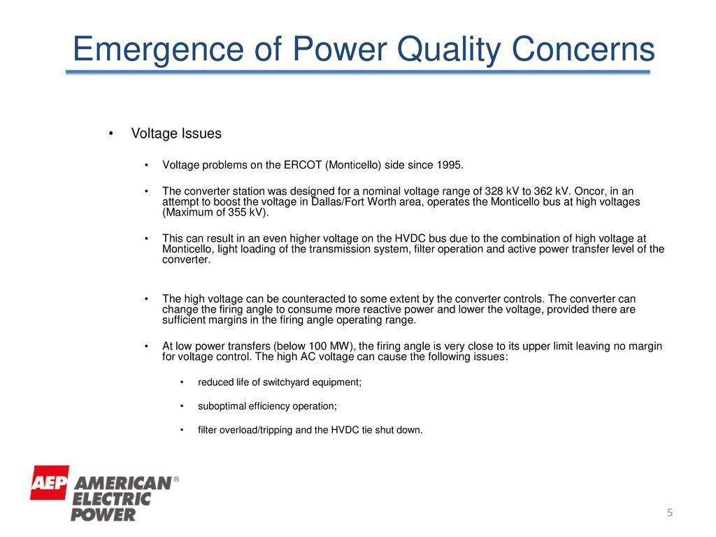 Harmonic Issues of AEP Welsh HVDC System Bob Malek Kiril Andov