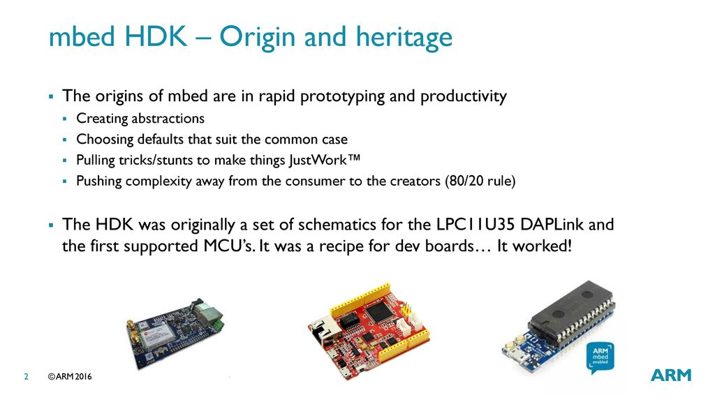 mbed HDK from prototype to production - ppt download