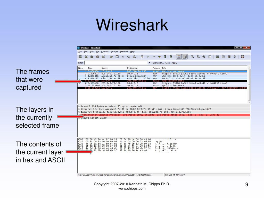 How to Use the Wireshark Protocol Analyzer - ppt download