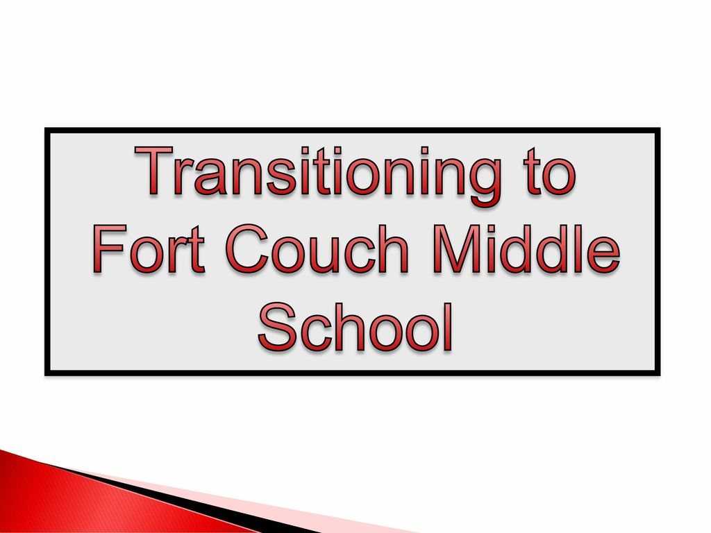 8 Fort Couch Middle School