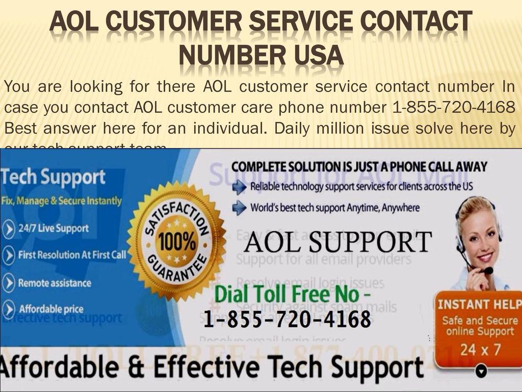 aol customer service contact number usa - ppt download