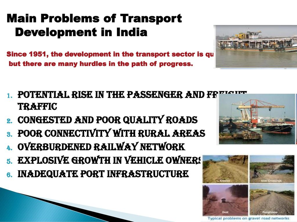 TRANSPORT SECTOR IN INDIA  - ppt download
