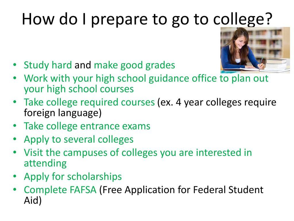 How do I go to college