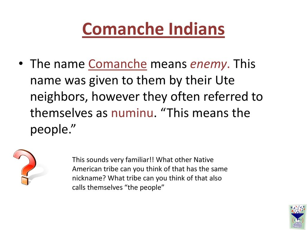 Translation of Comanche in English