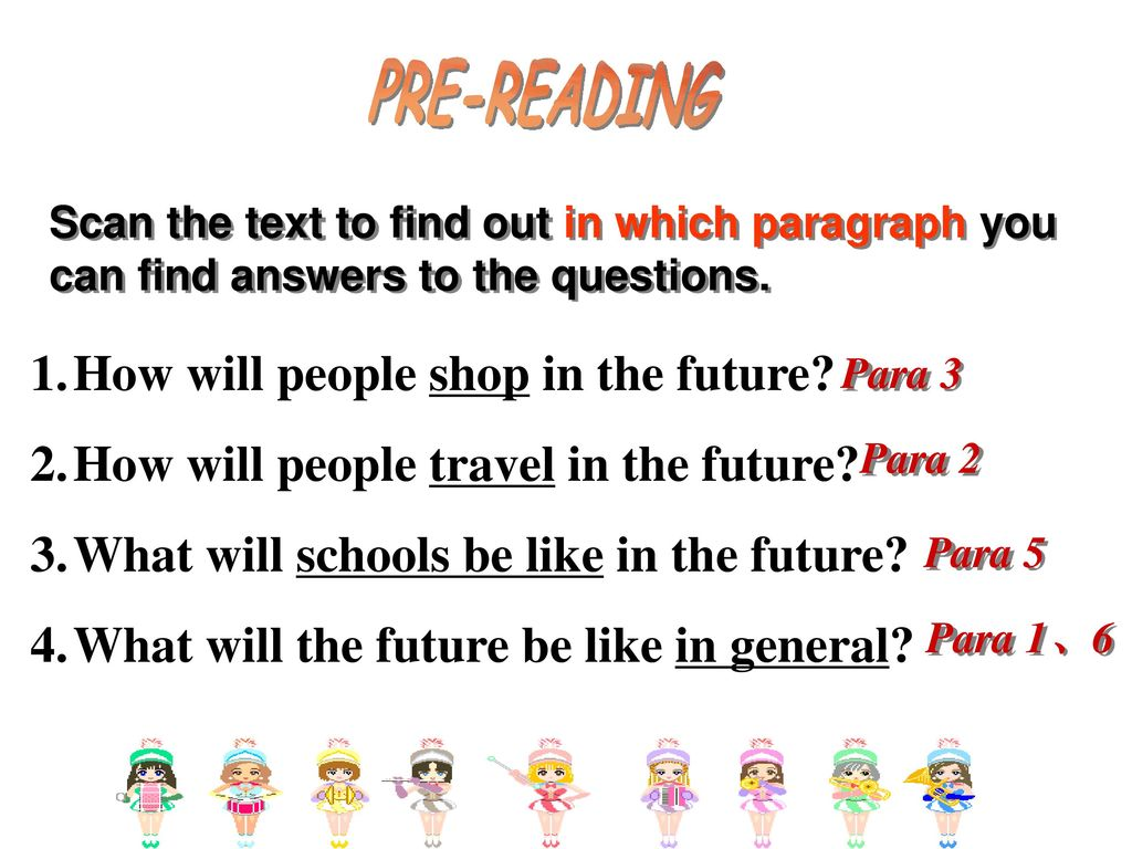 Life in the future -Reading-  - ppt download