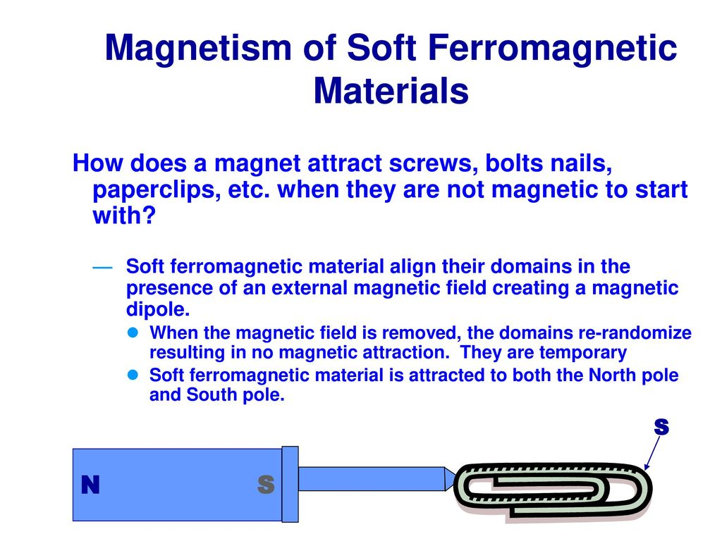 will either pole of a magnet attract a paperclip