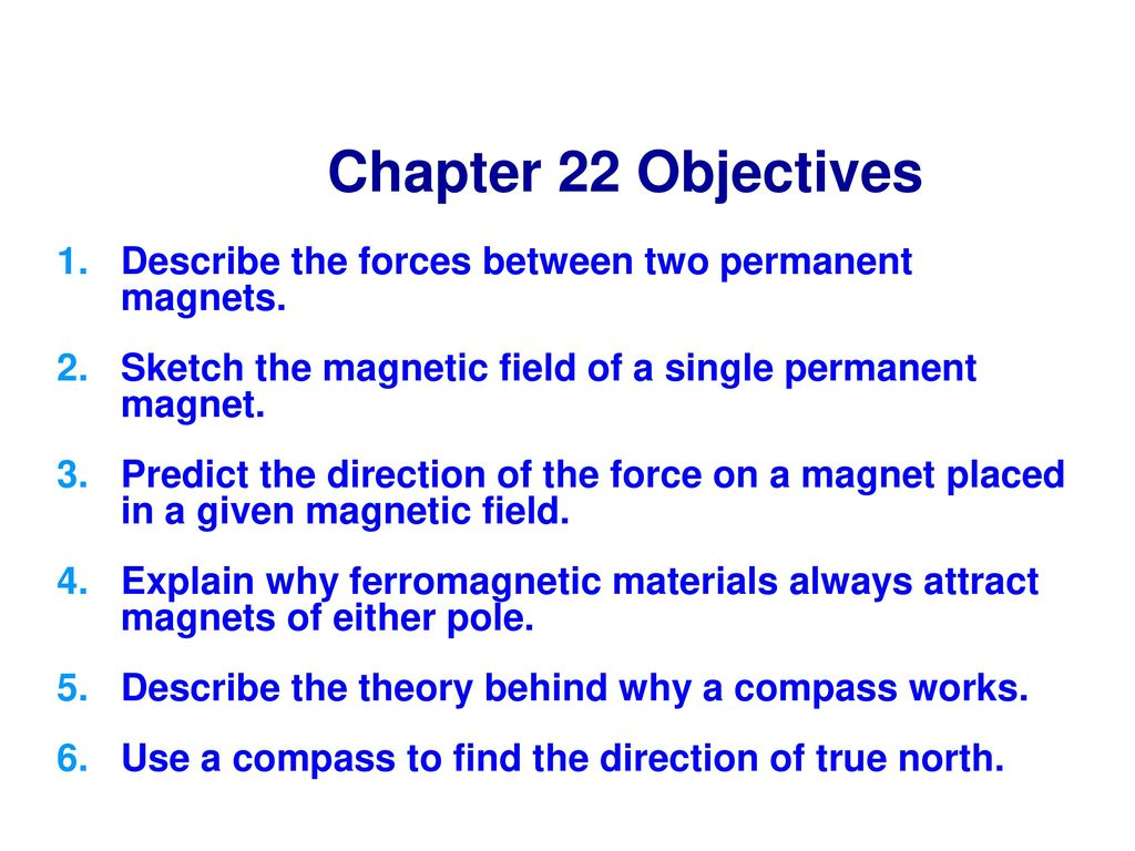 Magnets physics behind Physics of