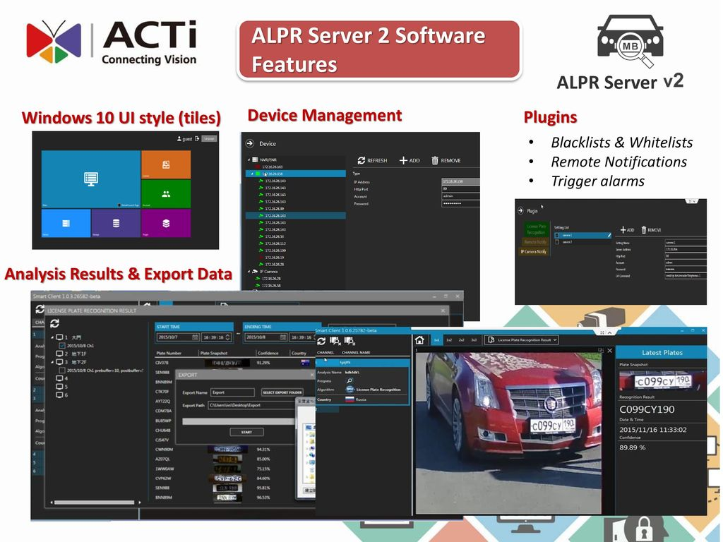 ALPR (Automated License Plate Recognition) Solutions - ppt