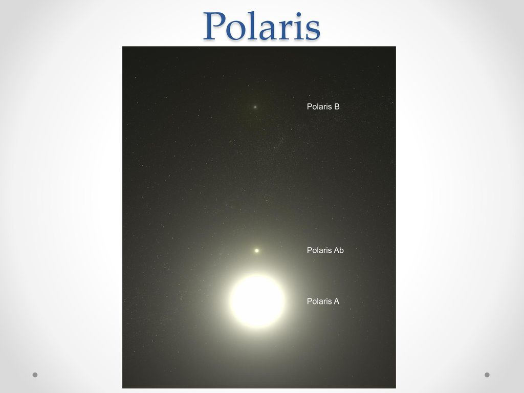 The Universe in Pictures Polaris+Polaris+is+actually+a+triple+star+system.