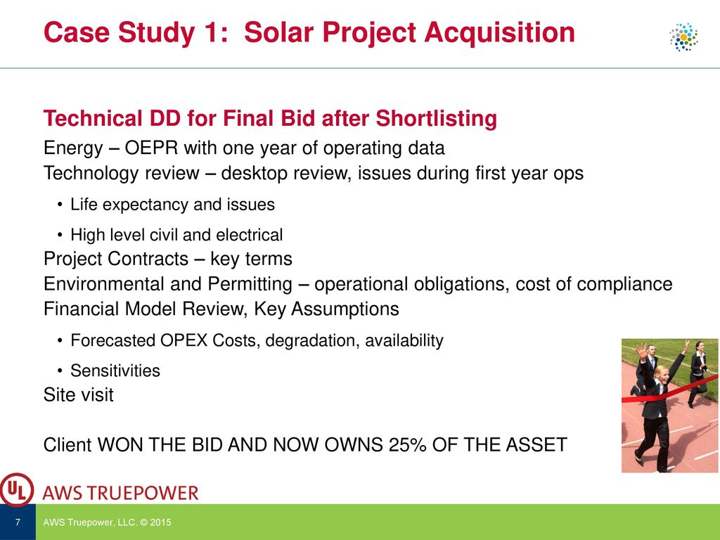 Due Diligence – Wind and Solar (Lenders Engineer point of View