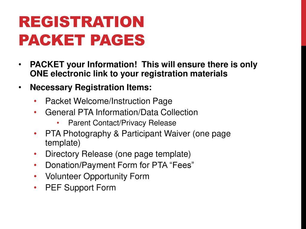 Registration Best Practice Training Ppt Download