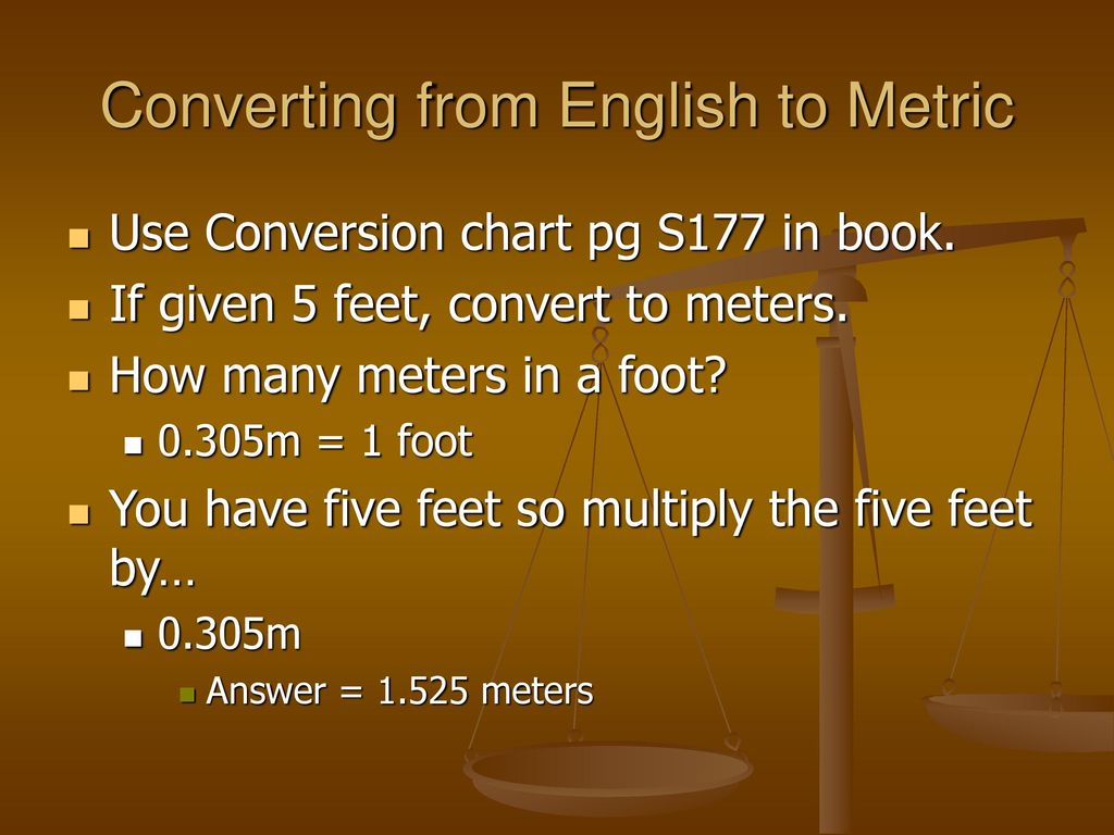The Metric System Ppt Download