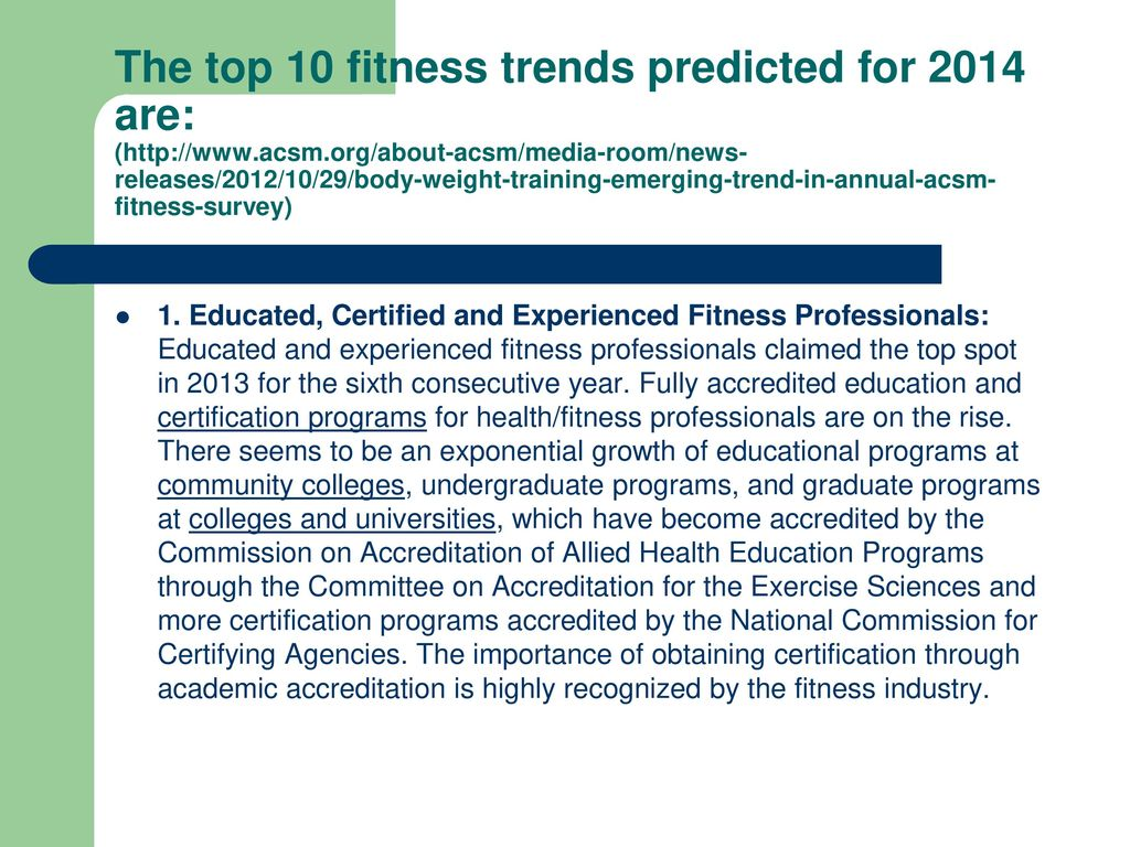 Be An Informed Fitness Consumer Ppt Download
