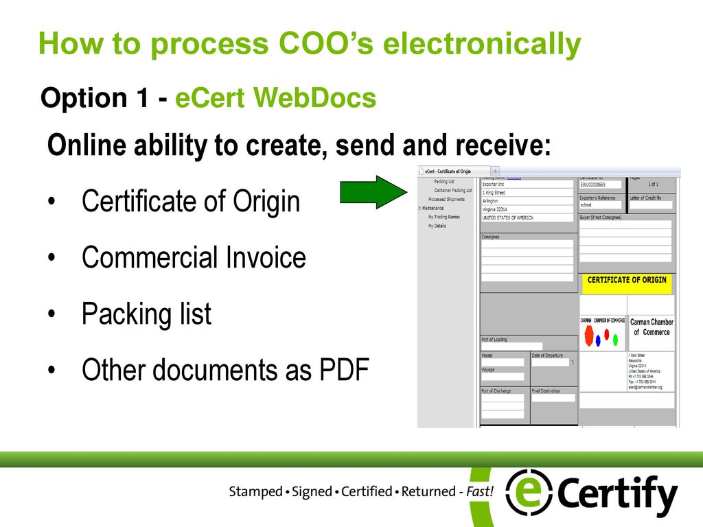 Everything Chamber Members Need To Know About Certificates Of Origin