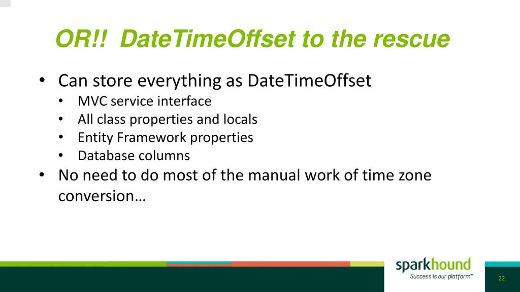 Twilight TimeZone: Handling Time in Your App Architecture