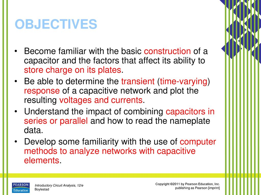 Capacitors Ppt Download Find The Thvenin Equivalent With Respect To 1nf Capacitor Objectives Become Familiar Basic Construction Of A And Factors That Affect Its