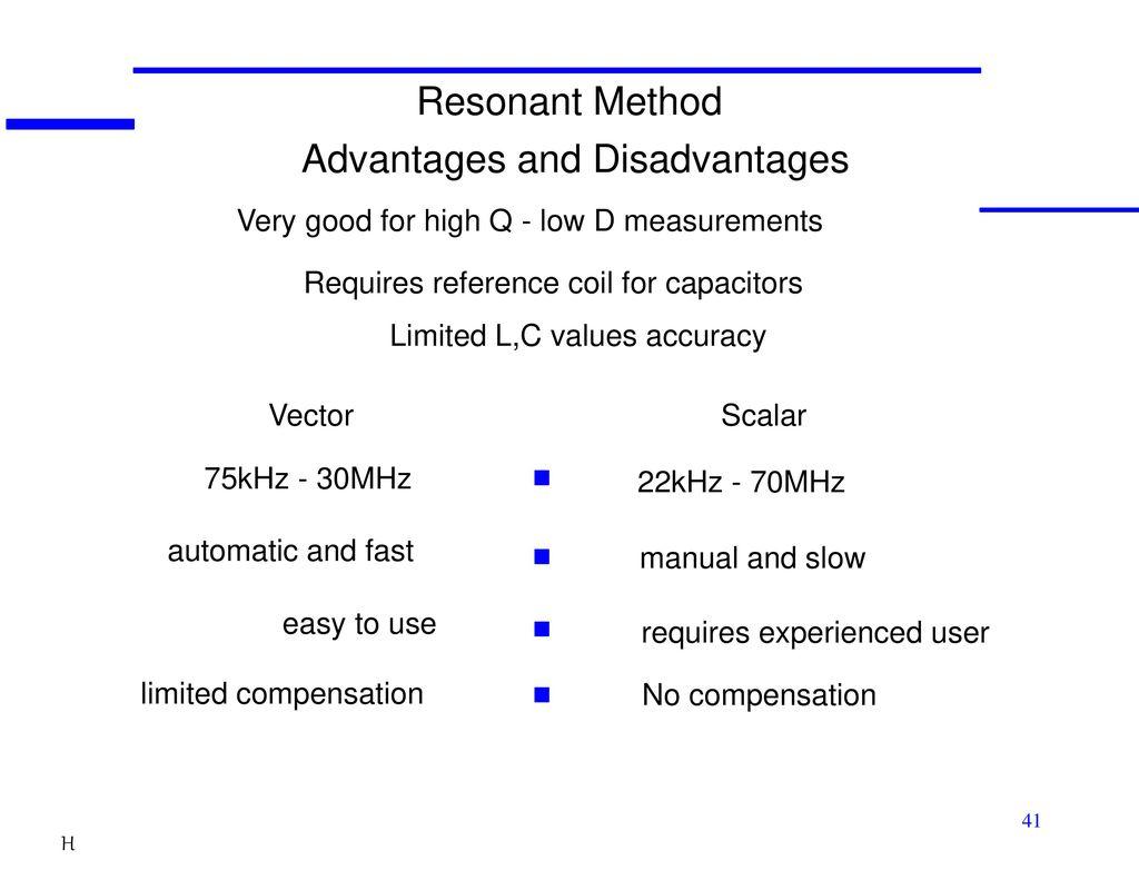 LCR/Impedance Measurement Basics - ppt download