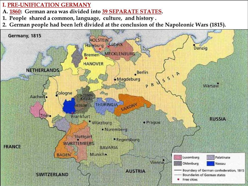 Map Of Germany Pre Unification.Motivation Journal Entry Do You Think Leaders Are Justified In