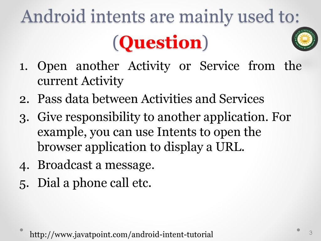 Android Mobile Application Development - ppt download