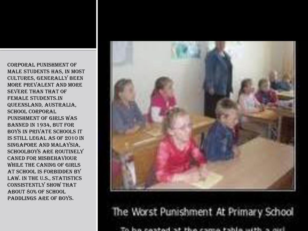 Punishment at school  - ppt download