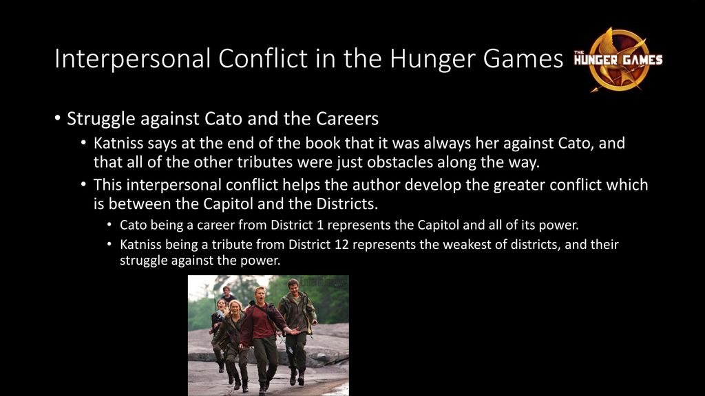 hunger games conflict