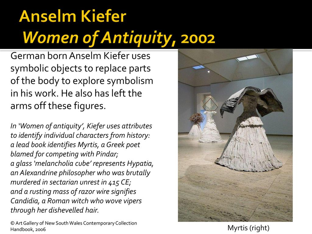 Representing The Figure Ppt Download Kiefer Built Wiring Diagram Anselm Women Of Antiquity 2002