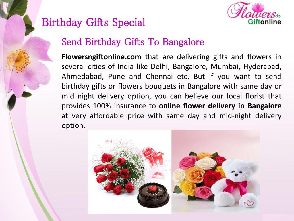 7 Birthday Gifts Special