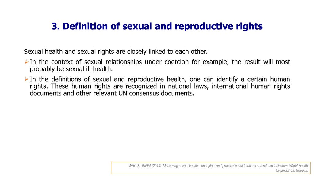 Sexuality definition world health organization