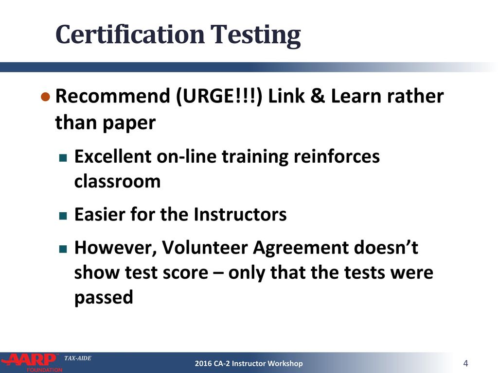 Certification And Testing Ppt Download