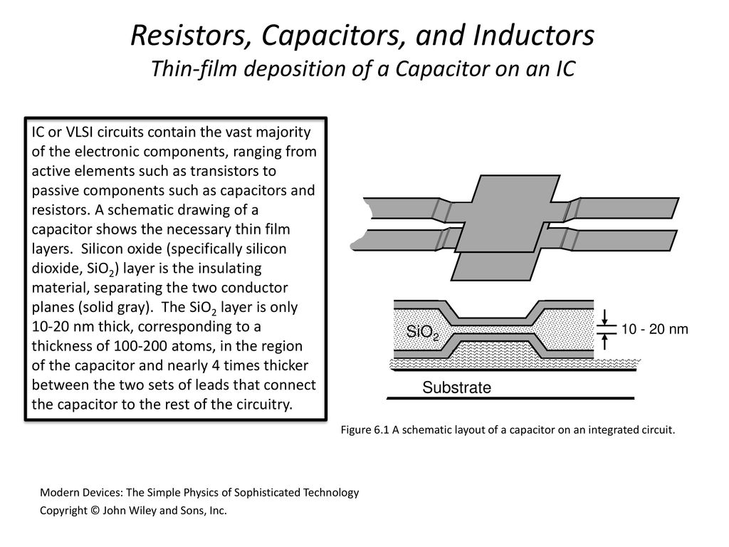 Modern Devices Chapter 6 Solid State Electronics Ppt Download Circuit Diagram With Resistor Capacitor And Inductor 3 Resistors Capacitors Inductors