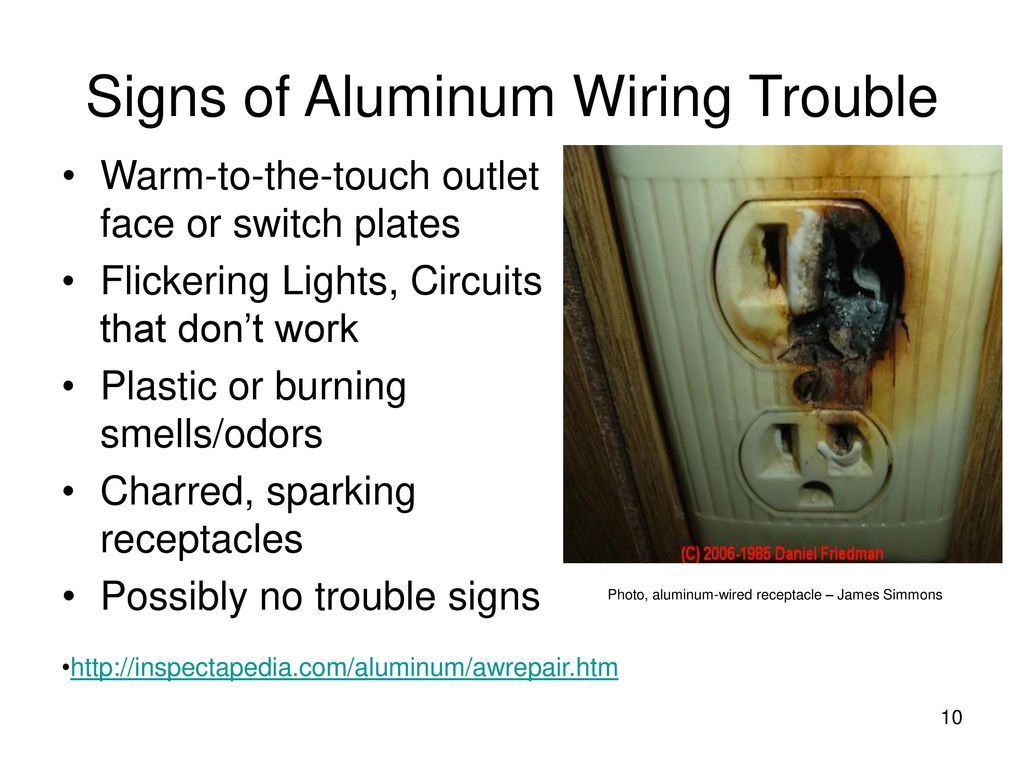 Residential Aluminum Wiring For Electricians Ppt Download